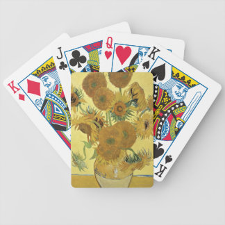 Vincent van Gogh | Sunflowers, 1888 Bicycle Playing Cards