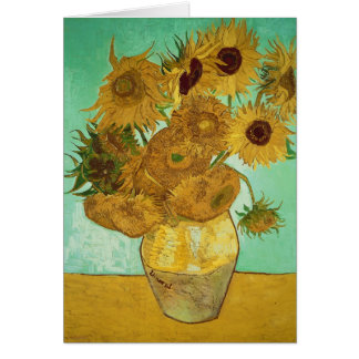 Vincent van Gogh | Sunflowers, 1888 Card
