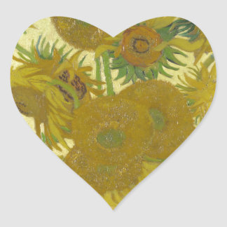 Vincent van Gogh Sunflowers 1888 Flowers Painting Stickers