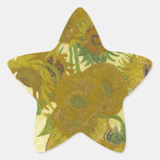 Vincent van Gogh Sunflowers 1888 Flowers Painting Sticker