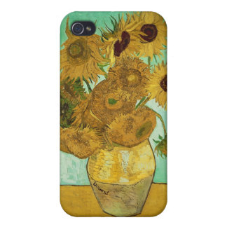 Vincent van Gogh | Sunflowers, 1888 iPhone 4 Covers