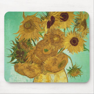 Vincent van Gogh | Sunflowers, 1888 Mouse Mat
