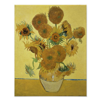 Vincent van Gogh | Sunflowers, 1888 Poster