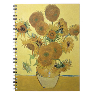 Vincent van Gogh | Sunflowers, 1888 Spiral Notebooks