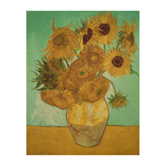 Vincent van Gogh | Sunflowers, 1888 Wood Wall Art