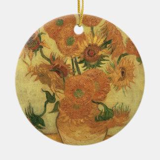 Vincent van Gogh | Sunflowers, 1889 Christmas Ornament