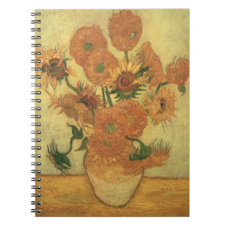 Vincent van Gogh   Sunflowers, 1889 Note Books