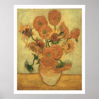 Vincent van Gogh | Sunflowers, 1889 Poster