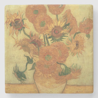 Vincent van Gogh | Sunflowers, 1889 Stone Coaster