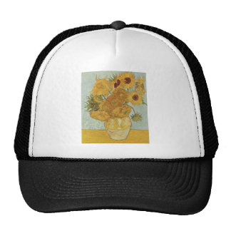 Vincent Van Gogh -  Sunflowers Cap