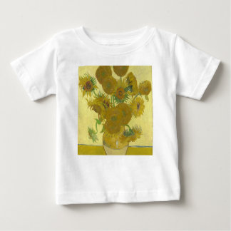 Vincent Van Gogh - Sunflowers - Classic Painting Baby T-Shirt