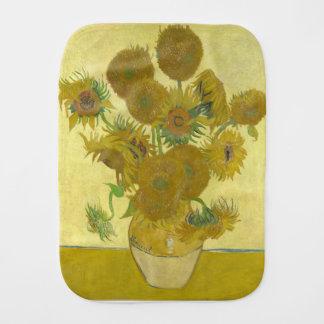 Vincent Van Gogh - Sunflowers - Classic Painting Burp Cloth