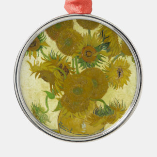 Vincent Van Gogh - Sunflowers - Classic Painting Christmas Ornament