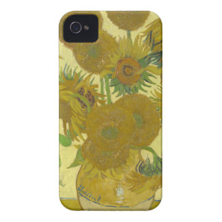 Vincent Van Gogh - Sunflowers - Classic Painting iPhone 4 Case-Mate Case