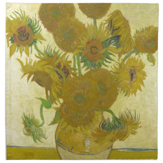 Vincent Van Gogh - Sunflowers - Classic Painting Napkin