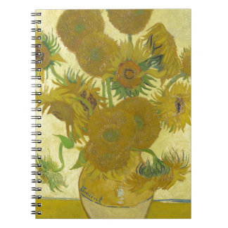 Vincent Van Gogh - Sunflowers - Classic Painting Notebooks