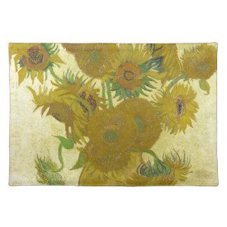 Vincent Van Gogh - Sunflowers - Classic Painting Placemat