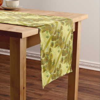Vincent Van Gogh - Sunflowers - Classic Painting Short Table Runner