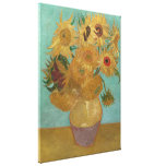Vincent Van Gogh - Sunflowers Gallery Wrapped Canvas
