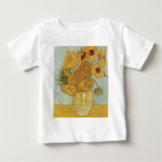 Vincent Van Gogh - Sunflowers - Lovely Floral Art Baby T-Shirt