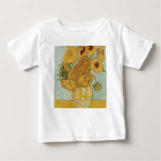 Vincent Van Gogh - Sunflowers - Lovely Floral Art Baby T-Shirt