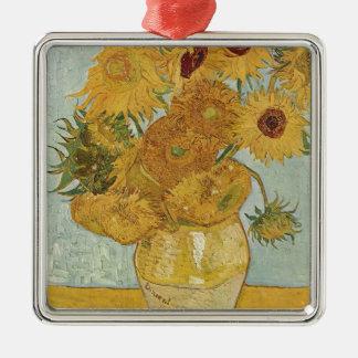 Vincent Van Gogh - Sunflowers - Lovely Floral Art Christmas Ornament