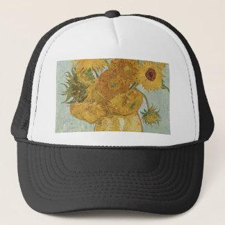 Vincent Van Gogh - Sunflowers - Lovely Floral Art Trucker Hat