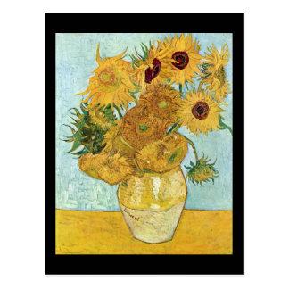 Vincent Van Gogh Sunflowers Postcards