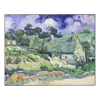 Vincent van Gogh | Thatched cottages at Cordeville
