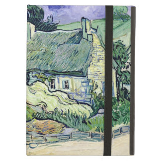 Vincent van Gogh | Thatched cottages at Cordeville Cover For iPad Air