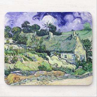 Vincent van Gogh | Thatched cottages at Cordeville Mouse Mat