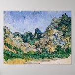 Vincent van Gogh | The Alpilles, 1889 Poster