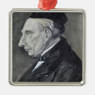 Vincent van Gogh | The Artist's Grandfather Silver-Colored Square Decoration