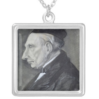Vincent van Gogh   The Artist's Grandfather Silver Plated Necklace