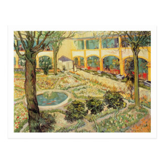 Vincent van Gogh | The Asylum Garden at Arles Postcard