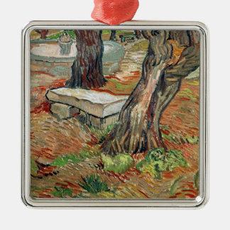 Vincent van Gogh | The Bench at Saint-Remy Christmas Ornament