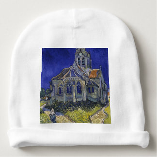 Vincent Van Gogh - The Church at Auvers Baby Beanie