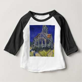 Vincent Van Gogh - The Church at Auvers Baby T-Shirt