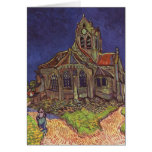 Vincent Van Gogh - The Church at Auvers Note Card