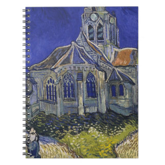 Vincent Van Gogh - The Church at Auvers Notebook