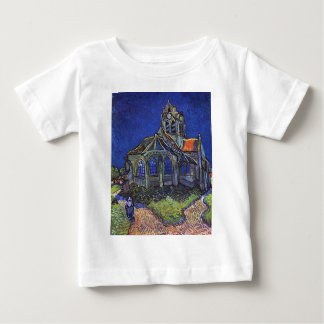 Vincent van Gogh - The Church at Auvers-sur-Oise Baby T-Shirt