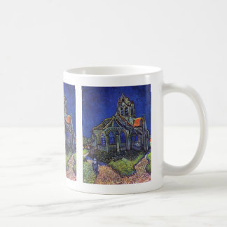 Vincent van Gogh - The Church at Auvers-sur-Oise Basic White Mug