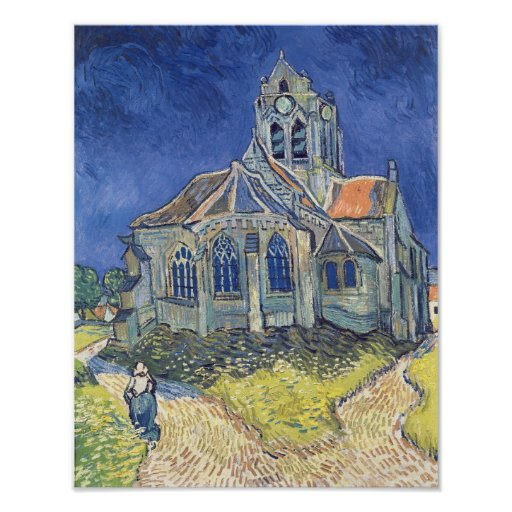 Vincent van Gogh | The Church at Auvers-sur-Oise Poster