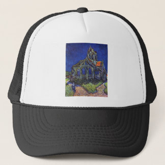 Vincent van Gogh - The Church at Auvers-sur-Oise Trucker Hat