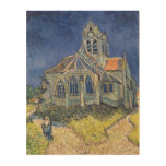 Vincent van Gogh | The Church at Auvers-sur-Oise Wood Prints