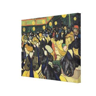 Vincent van Gogh | The Dance Hall at Arles, 1888 Canvas Print