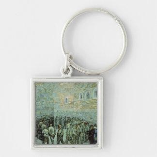 Vincent van Gogh | The Exercise Yard Key Ring