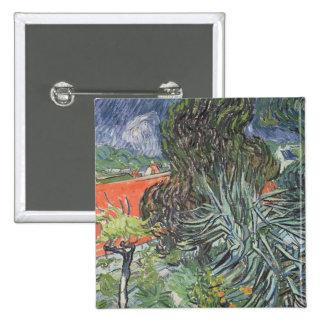 Vincent van Gogh | The Garden of Doctor Gachet 15 Cm Square Badge