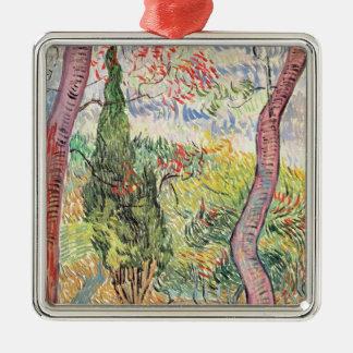 Vincent van Gogh   The Garden of St. Paul Hospital Christmas Ornament