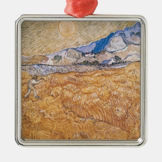 Vincent van Gogh   The Harvester Christmas Ornament